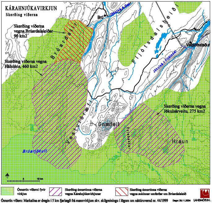 Figure 2. Wilderness map